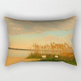 Silvershell Beach Rectangular Pillow