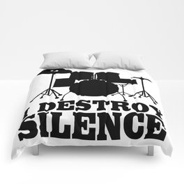 I Destroy Silence Comforters