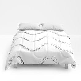 Slither Black #480 Comforters