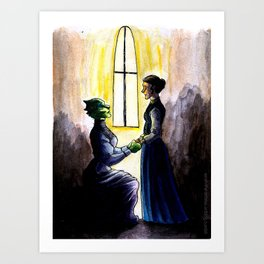 My dear, will you marry me? Art Print