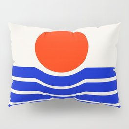 Going down-modern abstract Pillow Sham