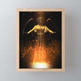 Rise From the Flames Framed Mini Art Print