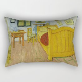The Bedroom by Vincent van Gogh Rectangular Pillow