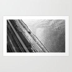 freeway. Art Print