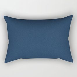 Oxford Blue Saturated Pixel Dust Rectangular Pillow