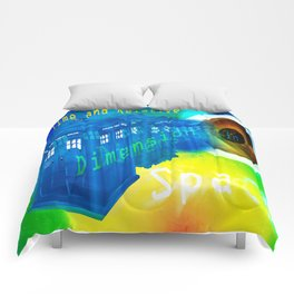 TARDIS Time and Relative Dimension in Space Comforters