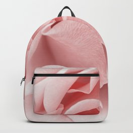 Pink flora Rose Bud- Roses and flowers Backpack