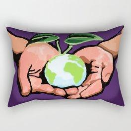 Care For Environment Rectangular Pillow