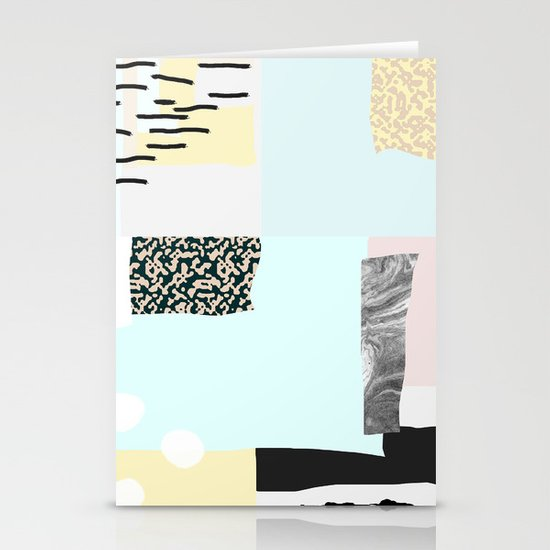 On the wall#4 Stationery Cards