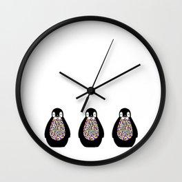 PinguPing Wall Clock