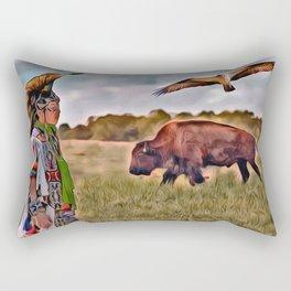 Native Lands Rectangular Pillow