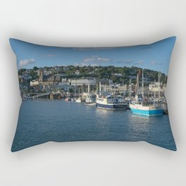 Torquay Harbour Rectangular Pillow
