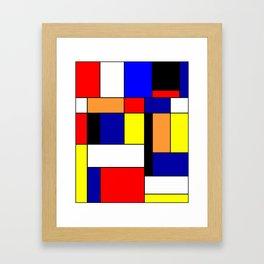 Mondrian #1 Framed Art Print
