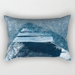 Abstract Pyramid Along The Roadside Rectangular Pillow