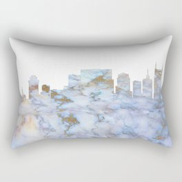 Nashville Skyline Tennessee Rectangular Pillow