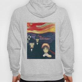 Anxiety by Edvard Munch Hoody