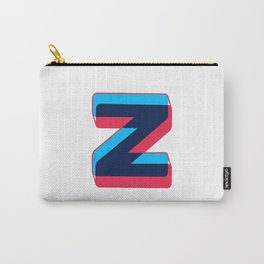 Letter Z Carry-All Pouch
