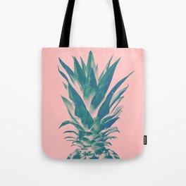 Blush Pineapple Dream #3 #tropical #fruit #decor #art #society6 Tote Bag