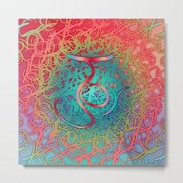 Symmetry 7: Joy Metal Print