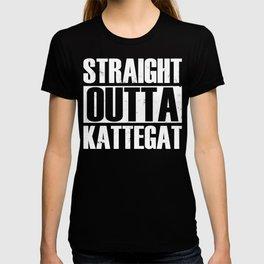 Straight Outta Kattegat Viking Viking T-shirt