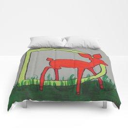 D is for Deer Comforters