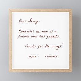 Dear George Framed Mini Art Print