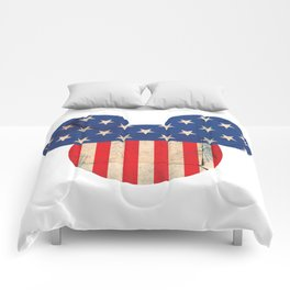 M Mouse Comforters