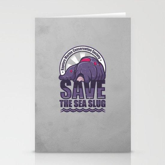 Save The Sea Slug Stationery Cards