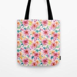 Pink Watercolor Delight Tote Bag