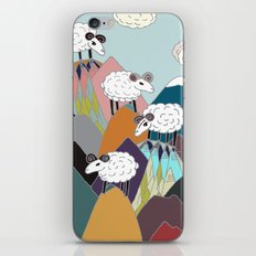 Clouds and Sheep iPhone & iPod Skin