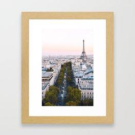 Paris City Framed Art Print