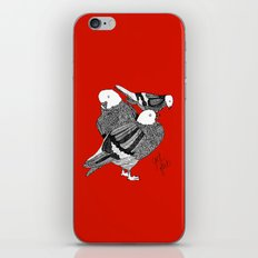 Red Pigeons Get Fat iPhone & iPod Skin