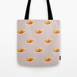 What I miss the most: Food Pattern Tote Bag