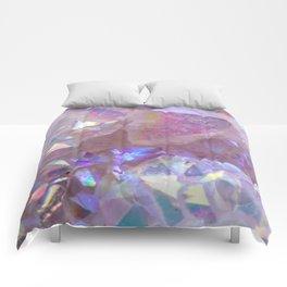 Pink Aura Crystals Comforters