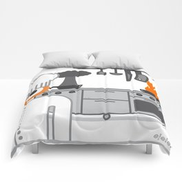 cooked glance Comforters