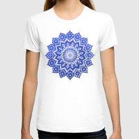 purple T-shirts featuring ókshirahm sky mandala by Peter Patrick Barreda