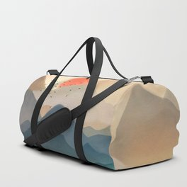 Wilderness Becomes Alive at Night Duffle Bag