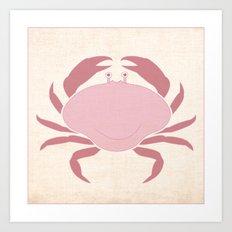 Crab - Under the Sea Series Nursey Print Art Print