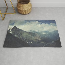 Valley and Mountains - Lombardia Italy Rug