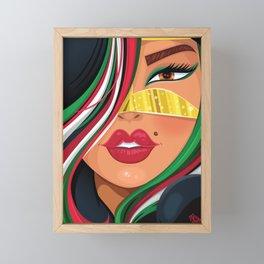 Emiratia Framed Mini Art Print
