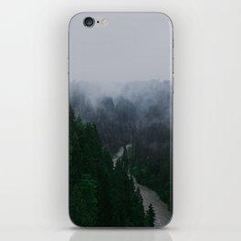 Bavarian Fog iPhone Skin