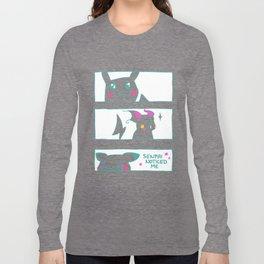 Teenage Poke Romance Long Sleeve T-shirt