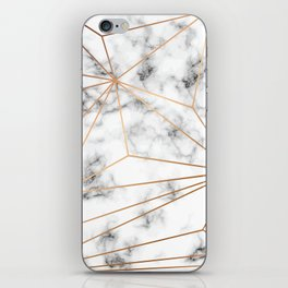 Marble & Gold 046 iPhone Skin