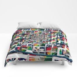 Computer Disks Pop Art Comforters