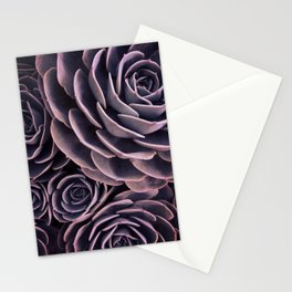 DARKSIDE OF SUCCULENTS I Stationery Cards