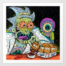 Nugget Rick Art Print