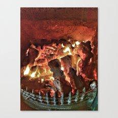 Fire-Fire..!!  Canvas Print