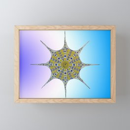 the star or octopus Framed Mini Art Print