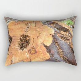 TEXTURES - Manzanita in Drought Conditions #2 Rectangular Pillow