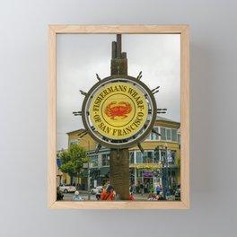 Fisherman's Wharf, San Francisco Framed Mini Art Print